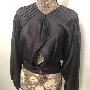 NWT Stella McCartney top silk blouse size s